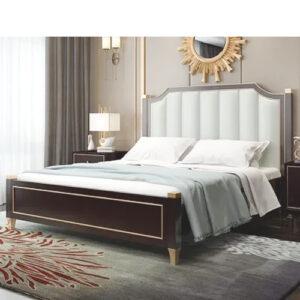 Giường ngủ gỗ hiện đại sang trọng Lux A1